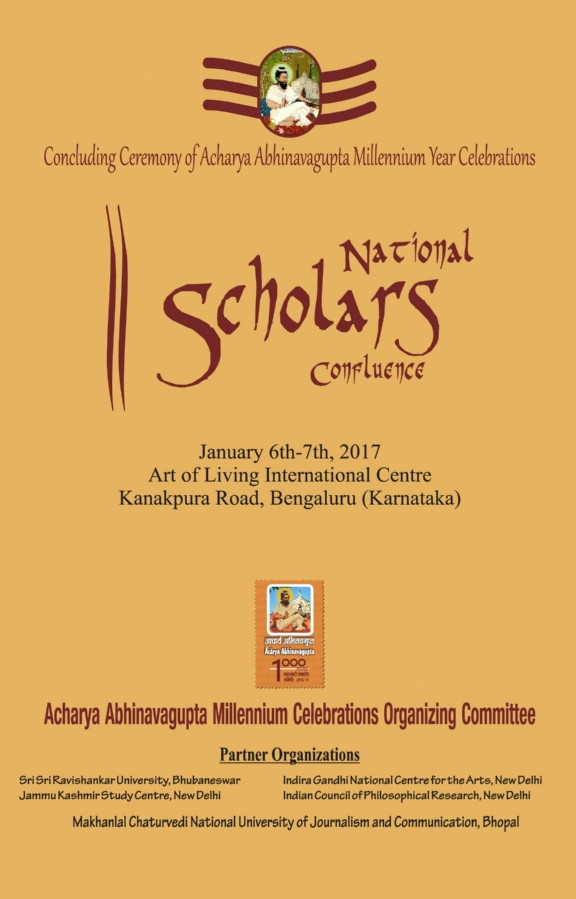 Brochure National Scholar's Conference